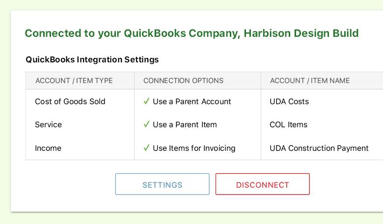 Easy QuickBooks integration setup